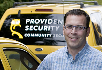 Mike Jagger : Provident Security : Owner